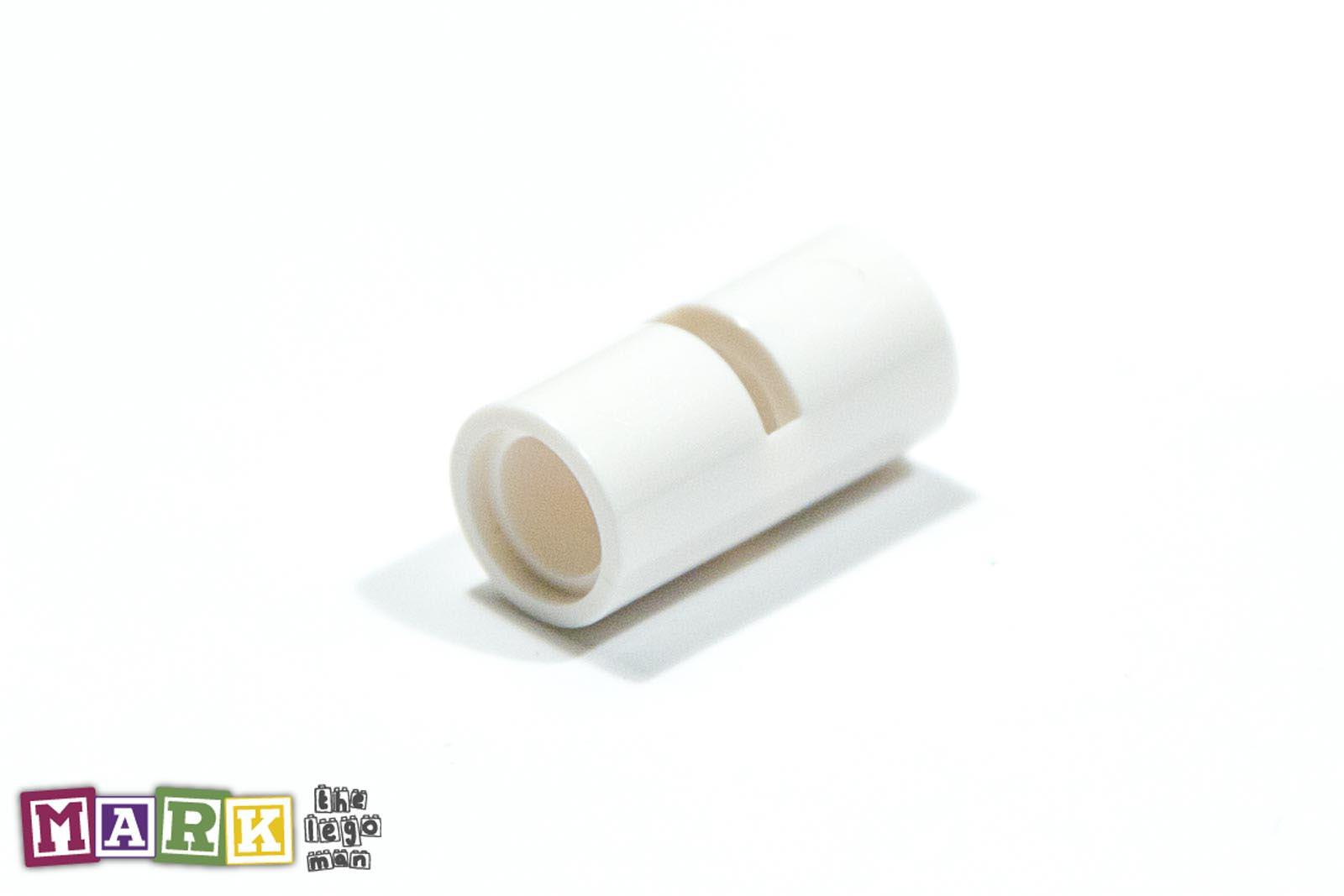 Lego Ø connector tube with double hole