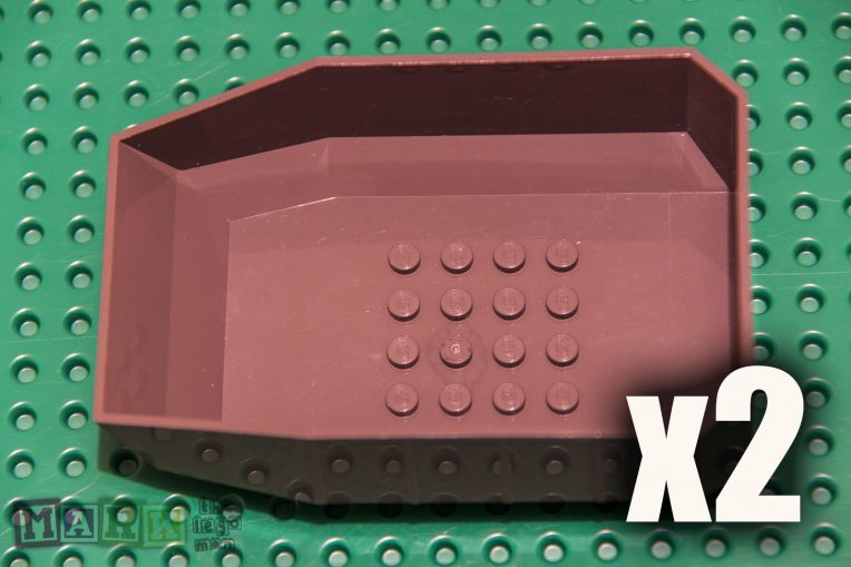 Lego 30300 Dark Grey Construction Bucket