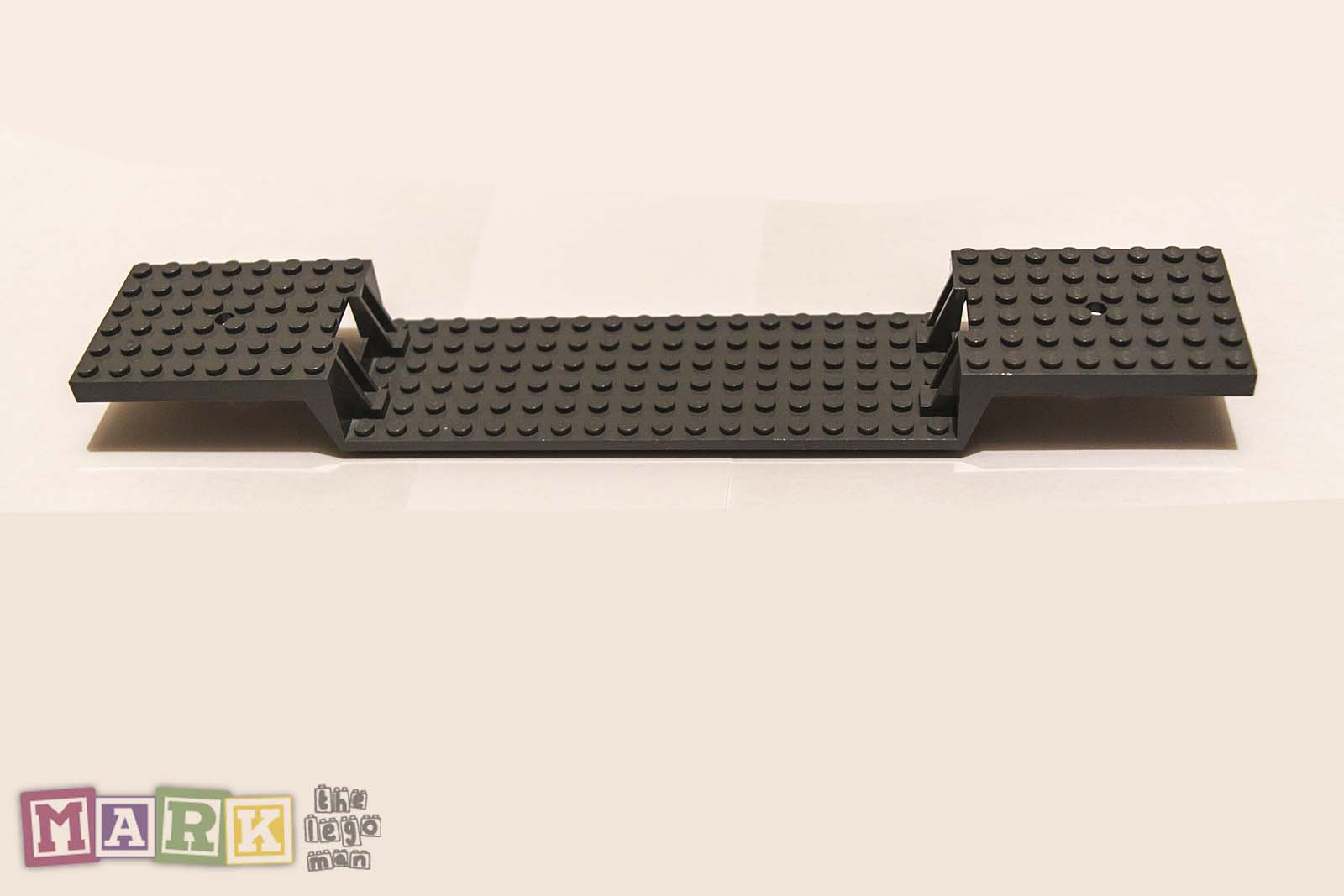 Very Rare Special Lego Train Base 2972 6x34 Split Level Lego