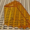Lego 30251 Glass Window Orange_Canopy_Windscreen