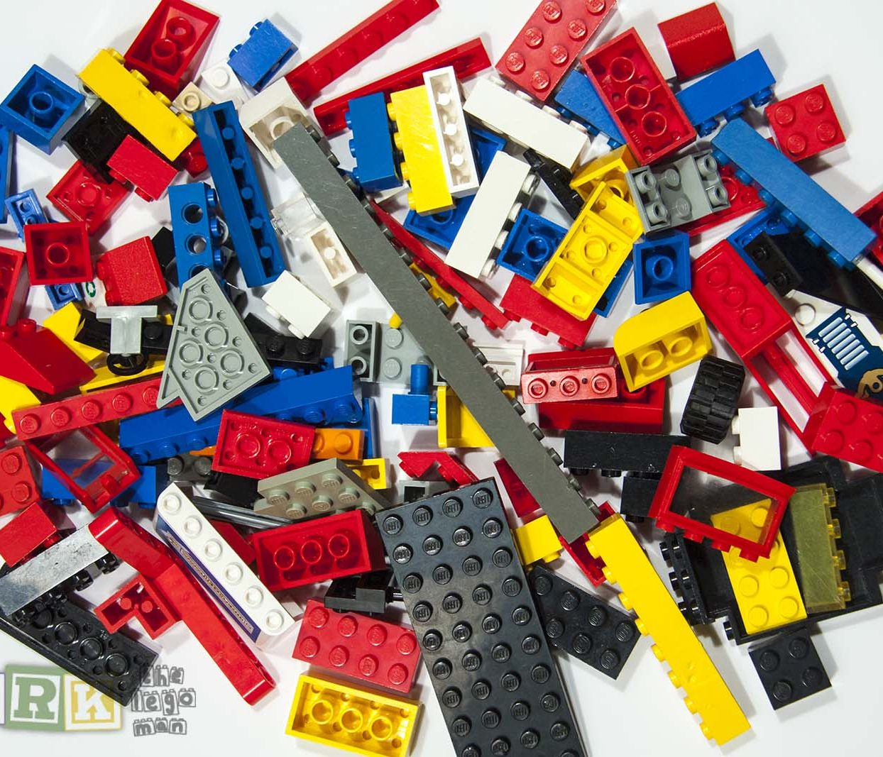Used Lego Mixed Bricks Plates Parts 250 grams For Sale Worldwide