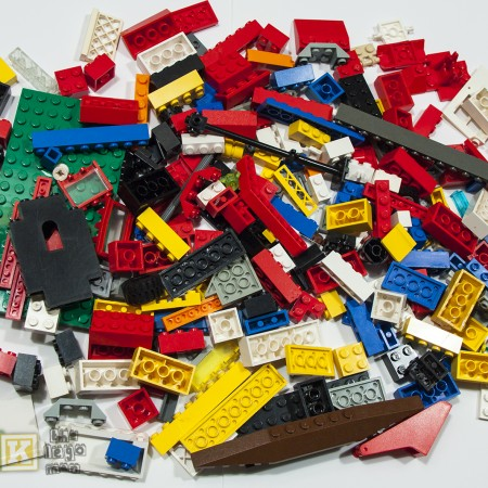 Used Lego Mixed Bricks Plates Parts 500 grams For Sale Worldwide