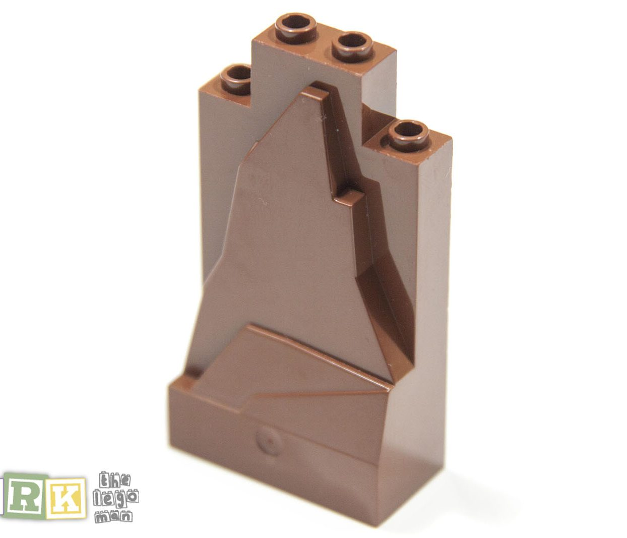 Lego 54782 47847 Panel 2x4x6 Rock Red Brown