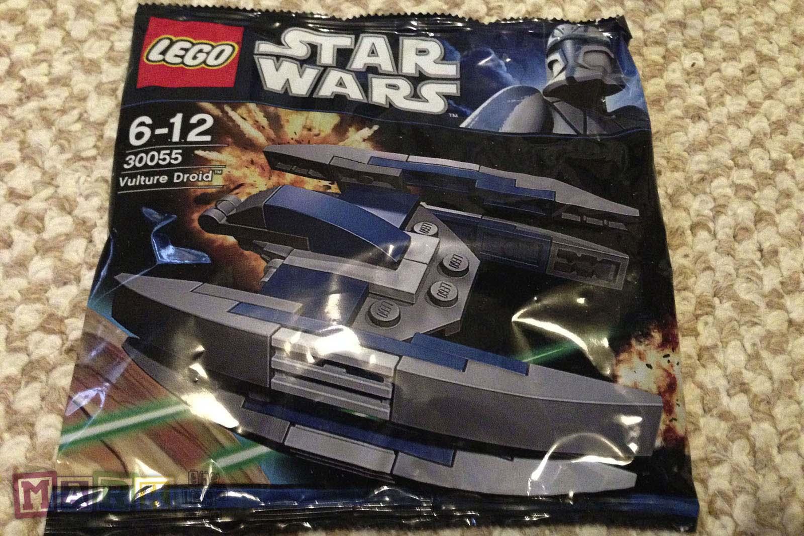 Lego 30055 Vulture Droid New Sealed Bag