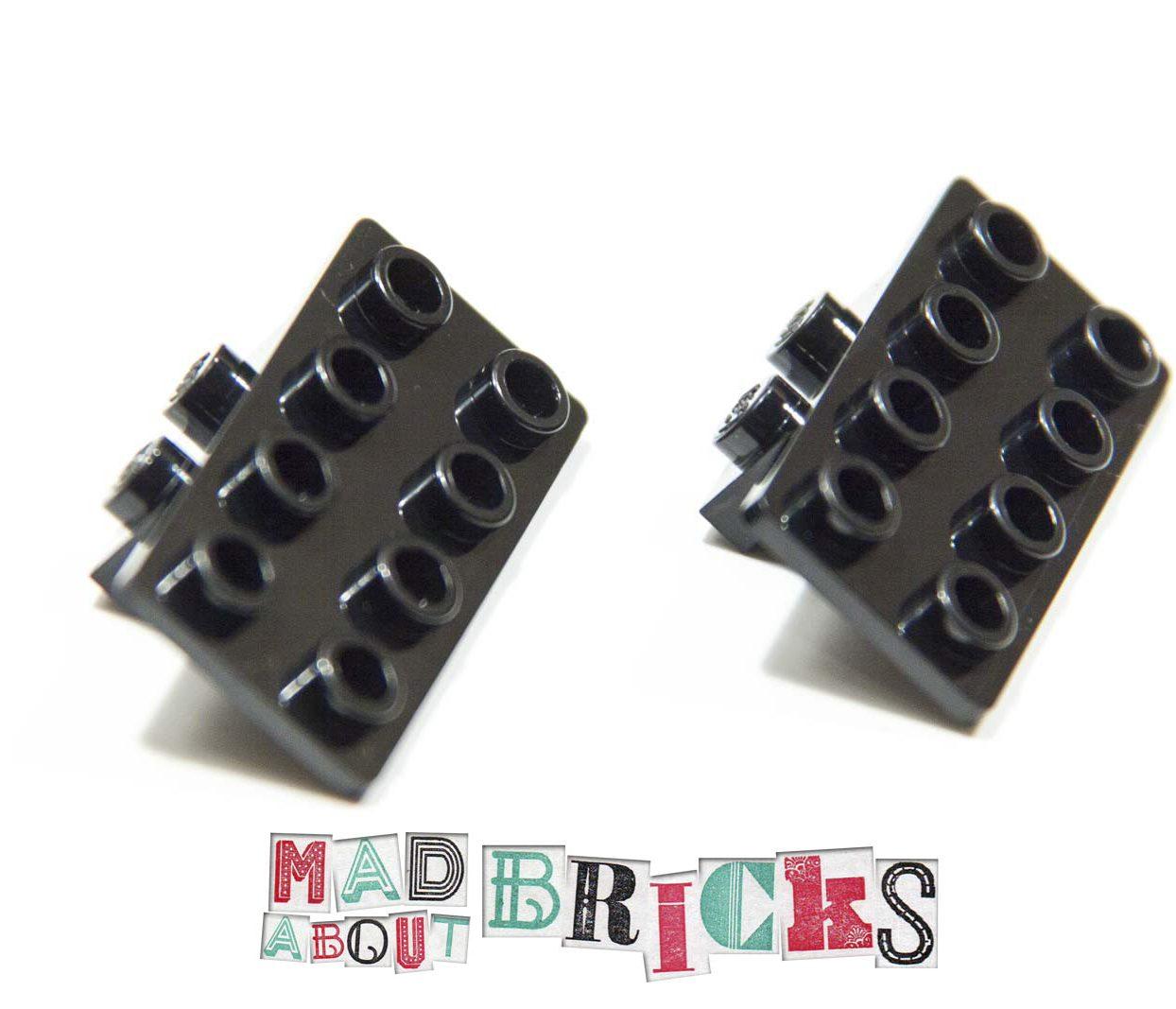 NEW Lego 93274 Black Angle Plate 1x2/2x4 4616245
