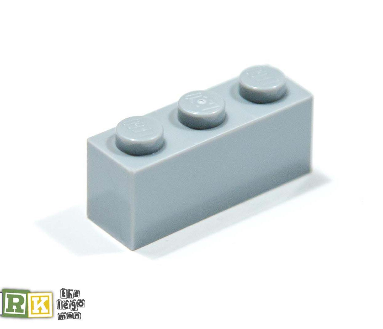 Lego 4211428 3622 1x Light Blueish Grey Md Stone Medium Standard Grey 1x3 Brick