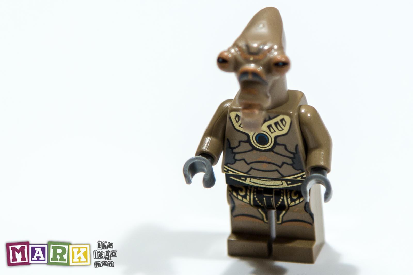 NEW Lego Star Wars minifig - Geonosian Warrior