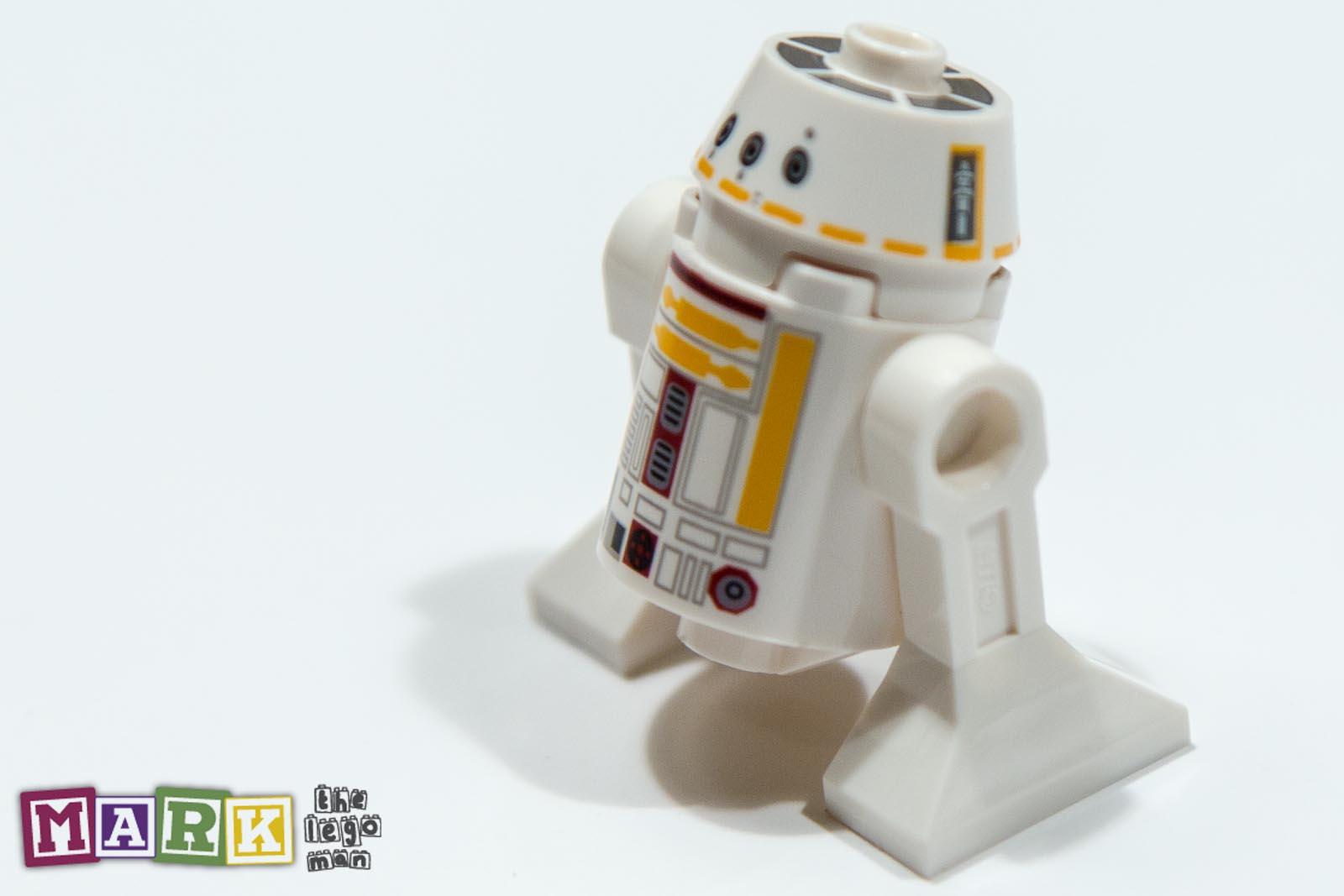 New lego star wars minifig r5 f7 droid like r2 d2 shape 75023 2 mad about bricks - Lego starwars r2d2 ...