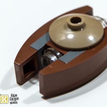 Lego Star Wars Micro Ship Dooku's Solar Sailer