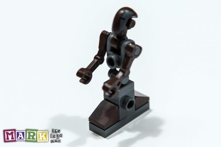 Lego Star Wars minifig Pilot Droid