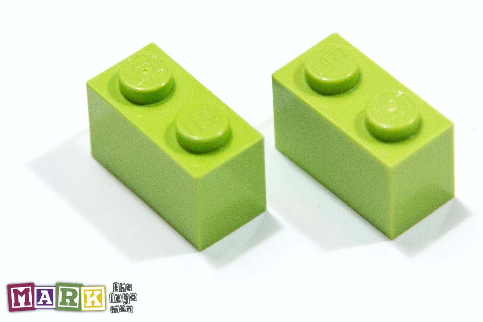 4164022 3004 2x Bright Yellow Green 1x2 Brick