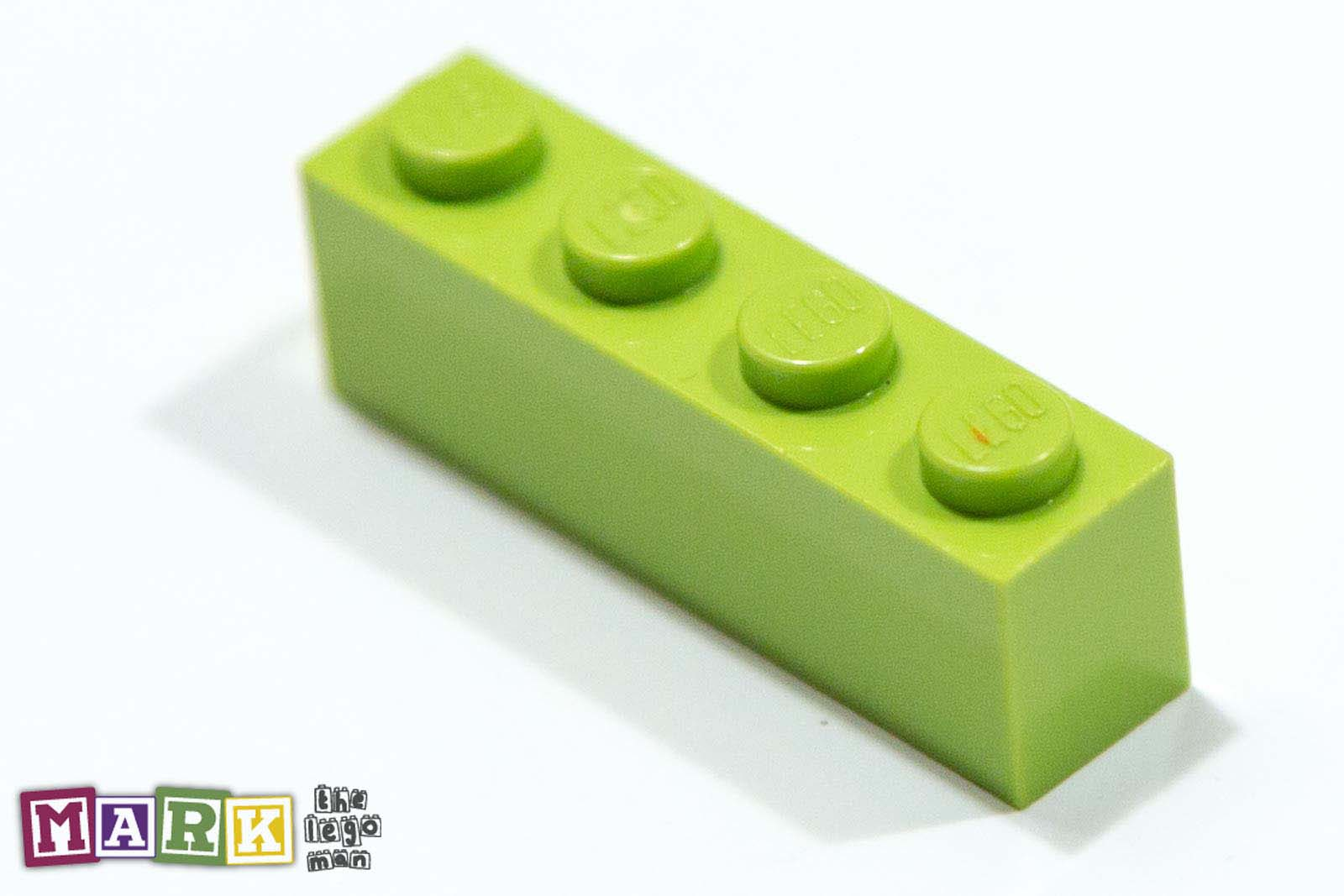4234716 3010 Bright Yellow Green 1x4 Brick