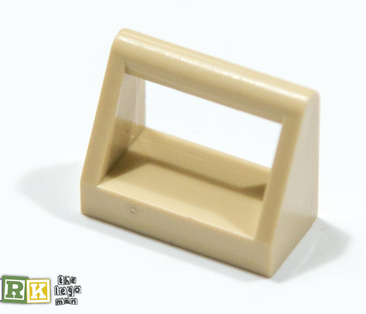 Lego 4124457 2432 Brick Yellow (Tan) 1x2 Clamp
