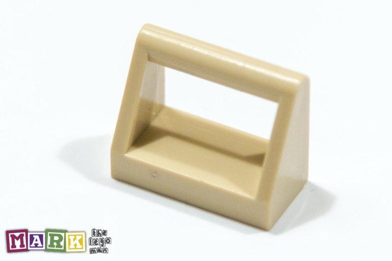 Lego 4124457 2432 Brick Yellow (Tan) 1x2 Clamp