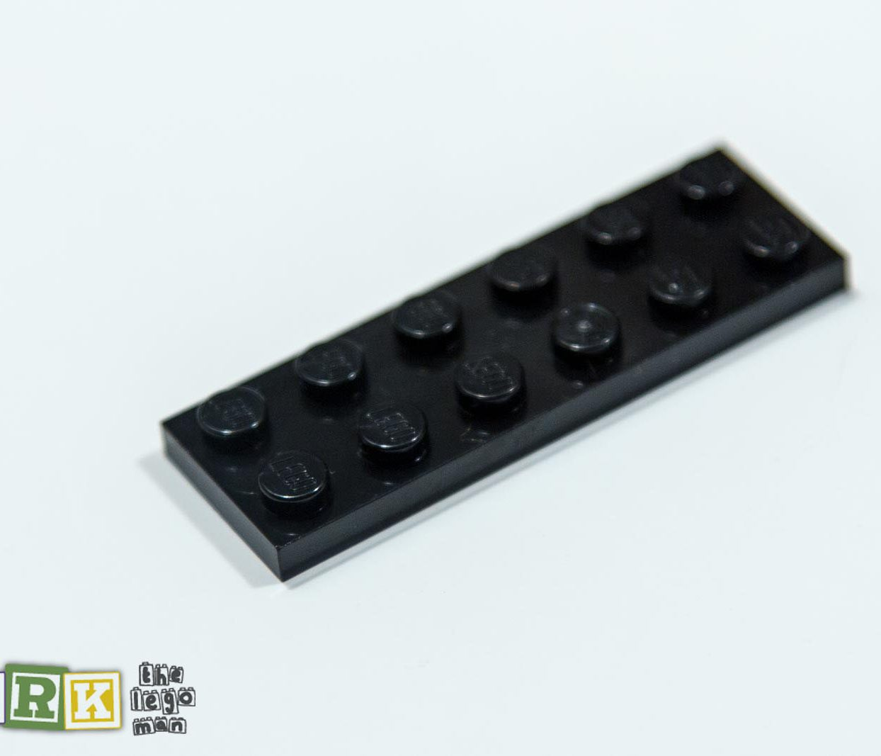 NEW Lego 379526 3795 1x Black 2x6 Plate 2X6
