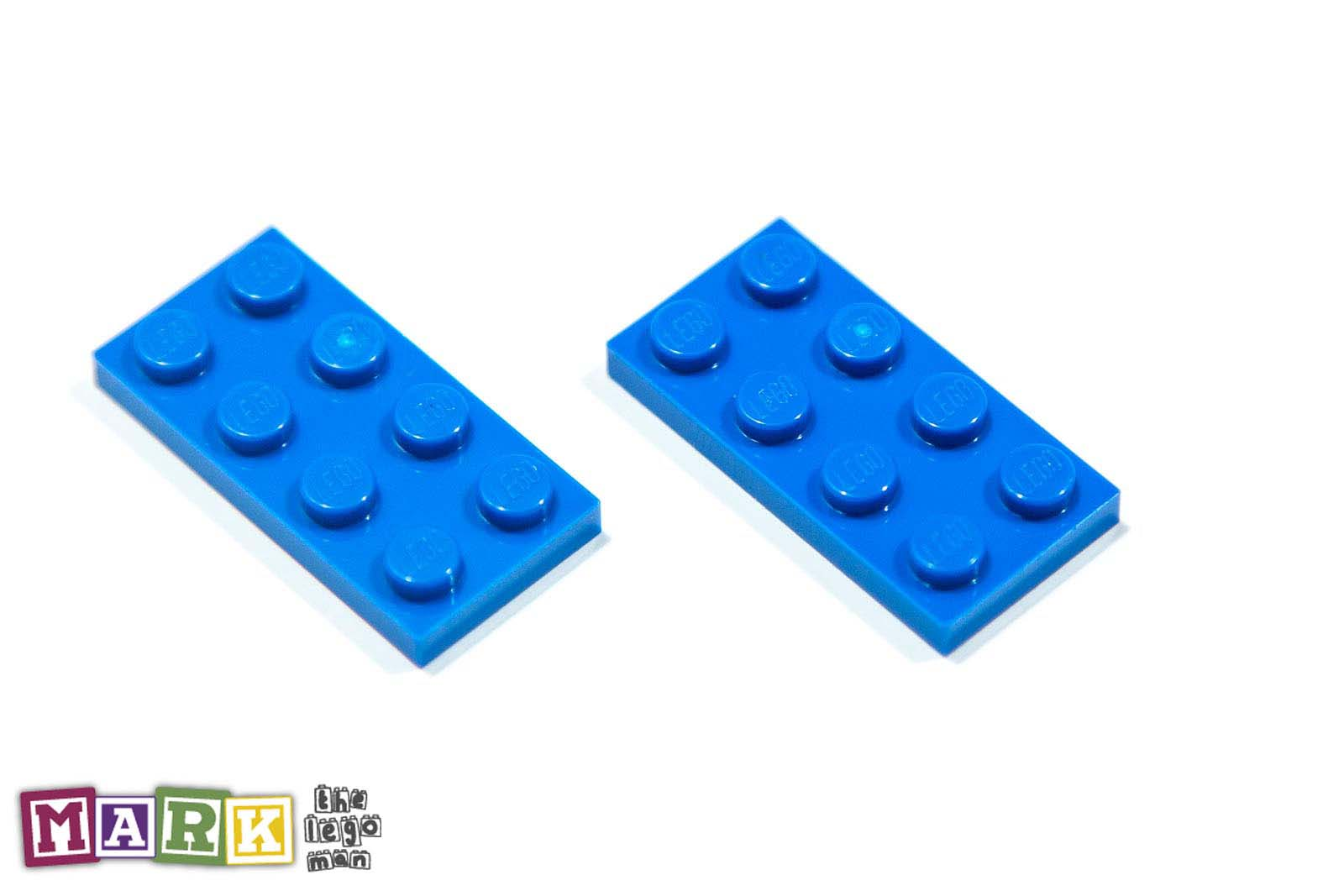 NEW Lego 302023 3020 2x Bright Blue 2x4 Plate