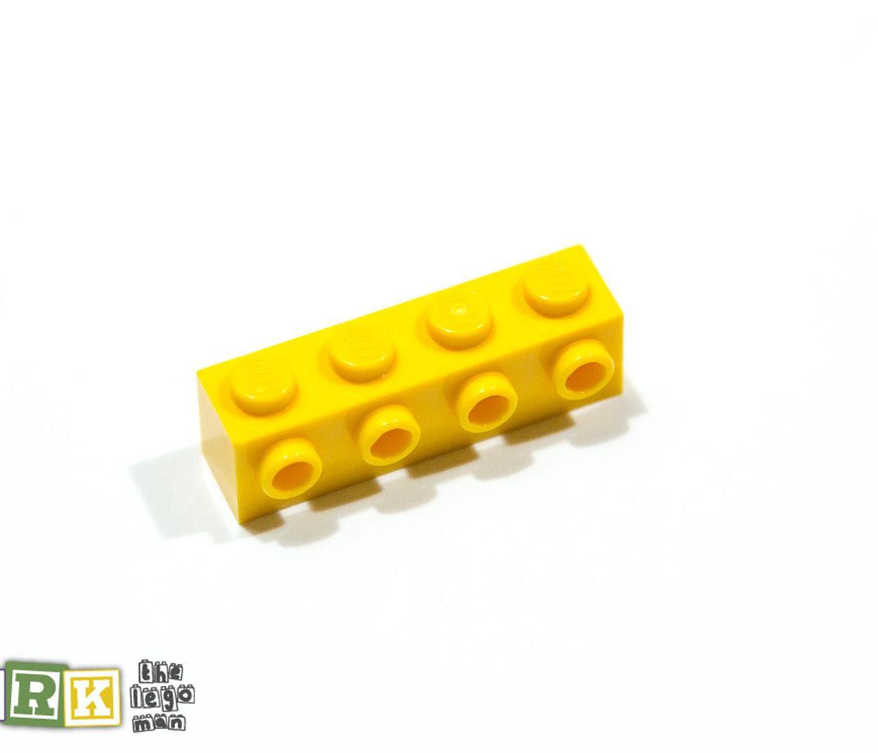 NEW Lego 4164073 30414 1x Bright Yellow 1x4 Brick with 4 Knobs
