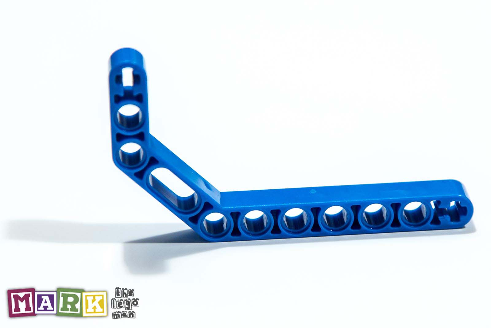 Lego 4112000 32009 1x Blue 3x7 45 Degree Double Angular Beam