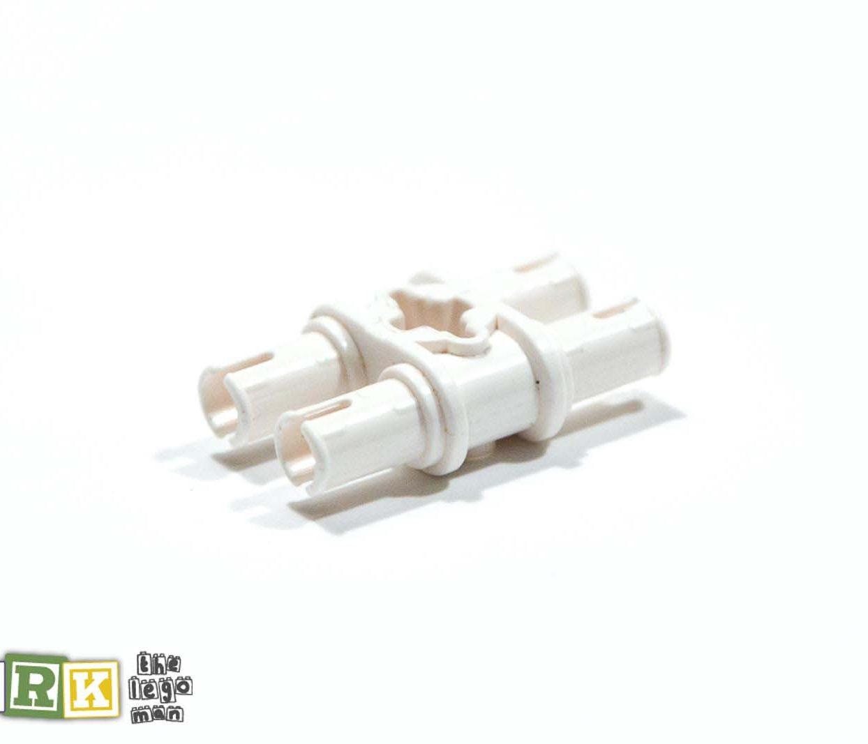 Lego 4118979 32138 1x White Module Bush Double Peg