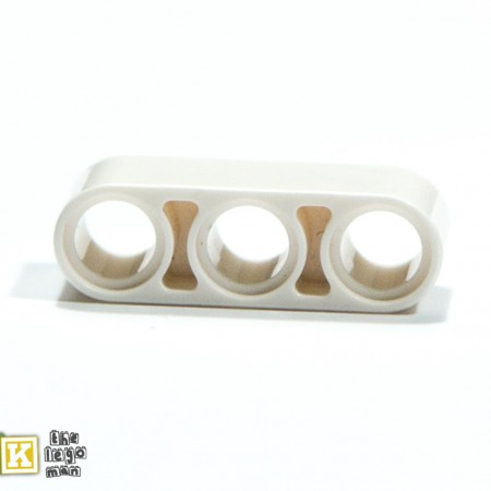 Lego 4208160 32523 1x White 3M Technic Beam