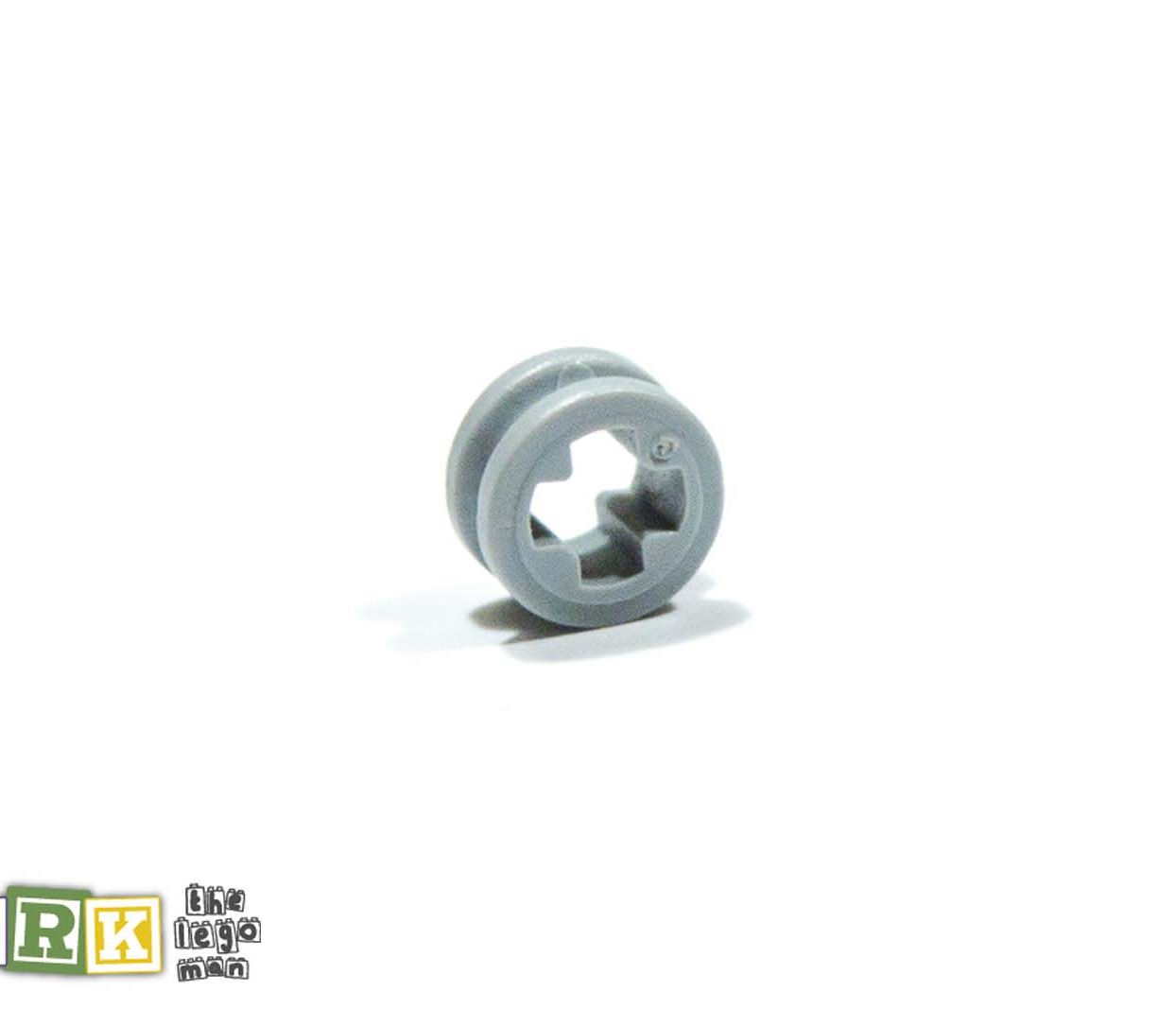 Lego 4211573 32123 1x Light Blueish Grey Md Stone Medium Standard Grey Half a bush