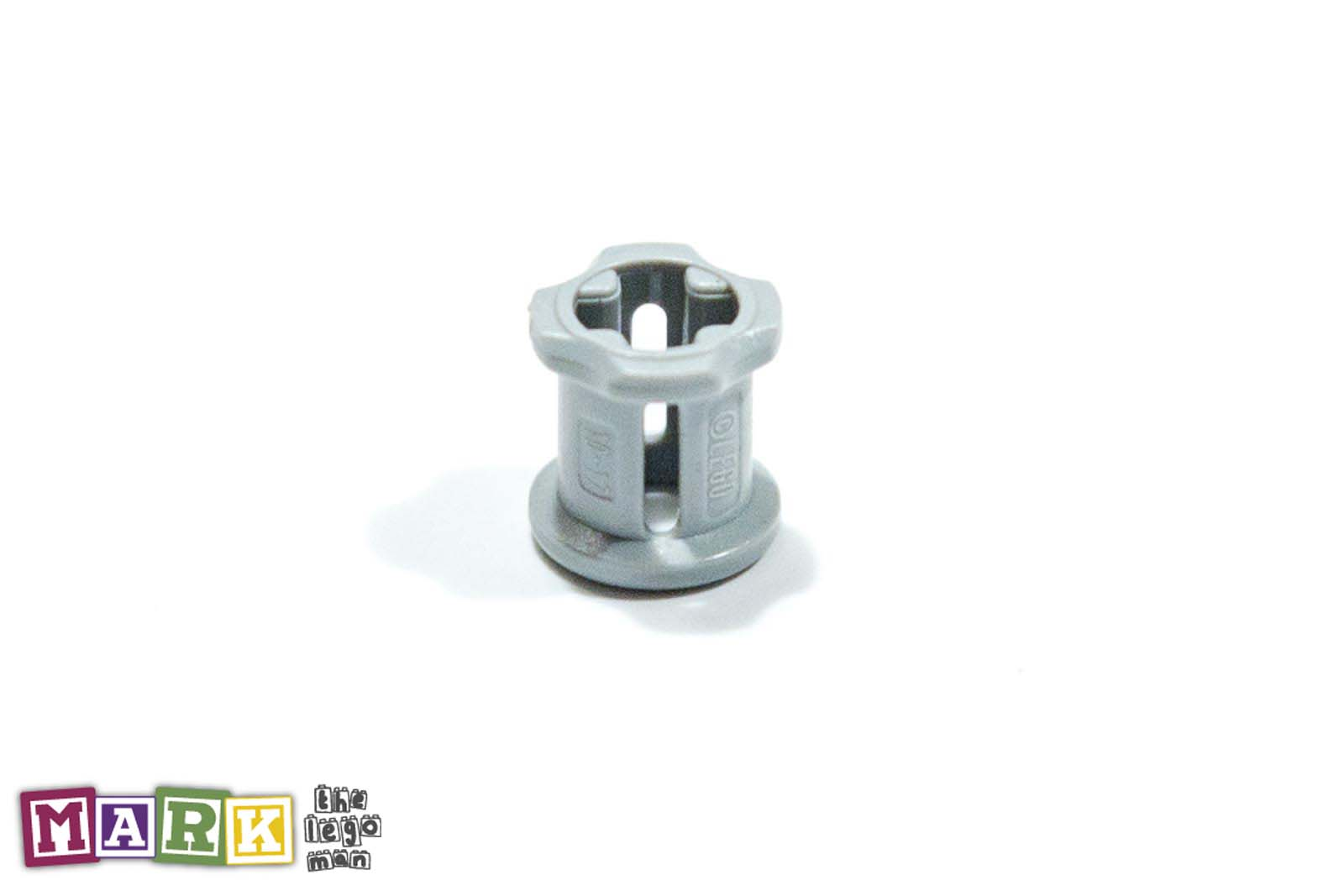 Lego 4211622 6590 1x Light Blueish Grey Md Stone Medium Standard Grey Bush For Cross Axle