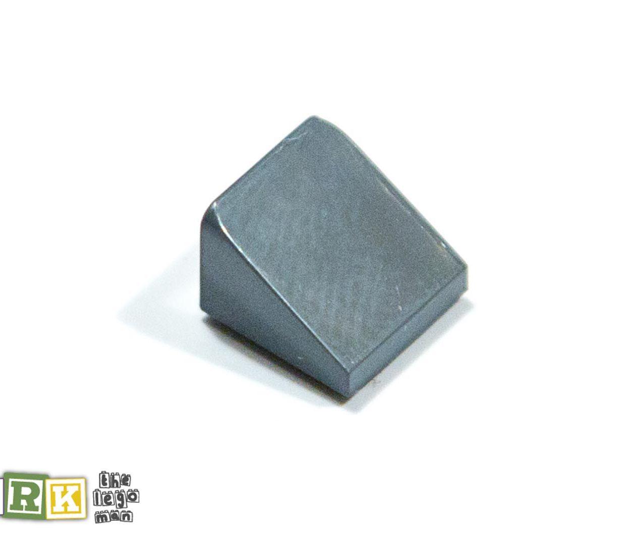 Lego 4504378 54200 1x Dark Blueish Grey Dark Stone Dark Standard Grey 1X1x2 3 Roof Tile