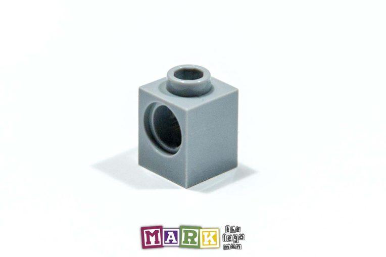 Lego 4211535 6541 1x Light Blueish Grey Md Stone Medium Standard Grey 1x1 Technic Brick with one hole