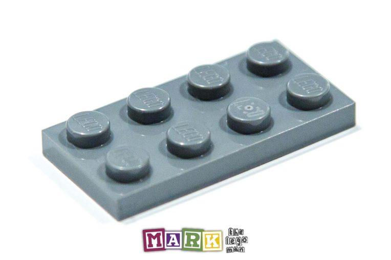 Lego 4211065 3020 1x Dark Blueish Grey Dark Stone Dark Standard Grey 2x4 Plate