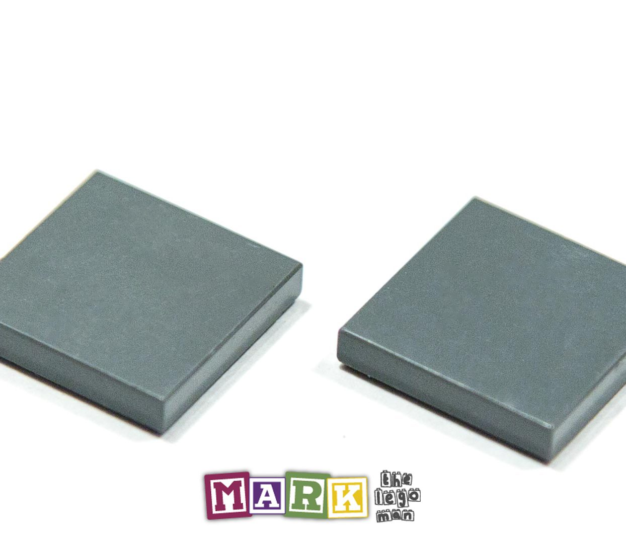 Pack of 2 Lego 3068 2x2 Flat Tile 4211055