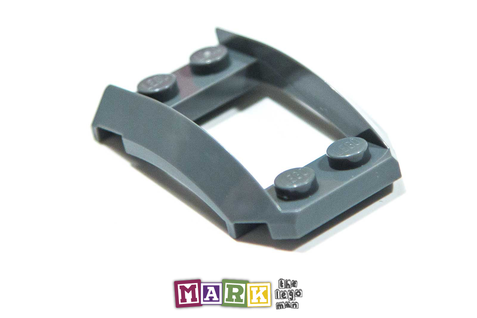 New Lego 47755 2x4x1 1/3 Plate with Side Bow 4294289