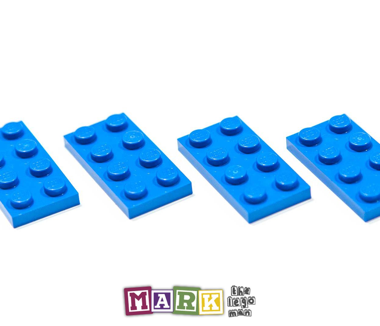 Pack of 4 New Lego 3020 2x4 Plate 302023