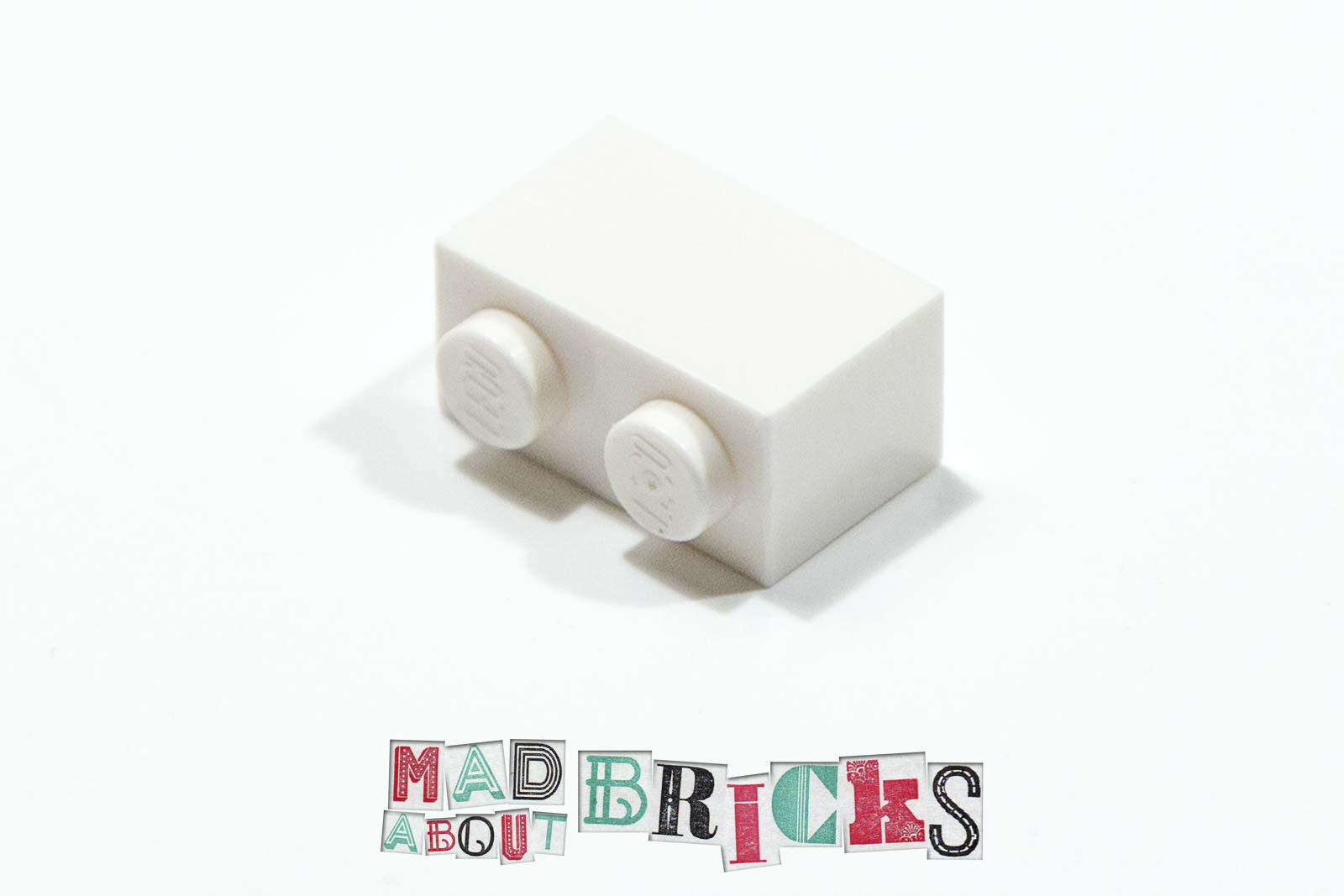 Lego BRICK 1x2 LIGHT BLUISH GREY New 3004 Qty 50