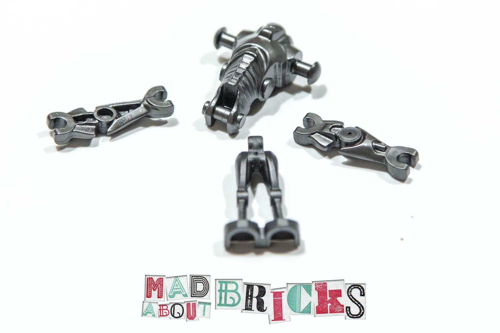 Lego Star Wars Super Battle Droid Minifig Minifigure Pearl Dark