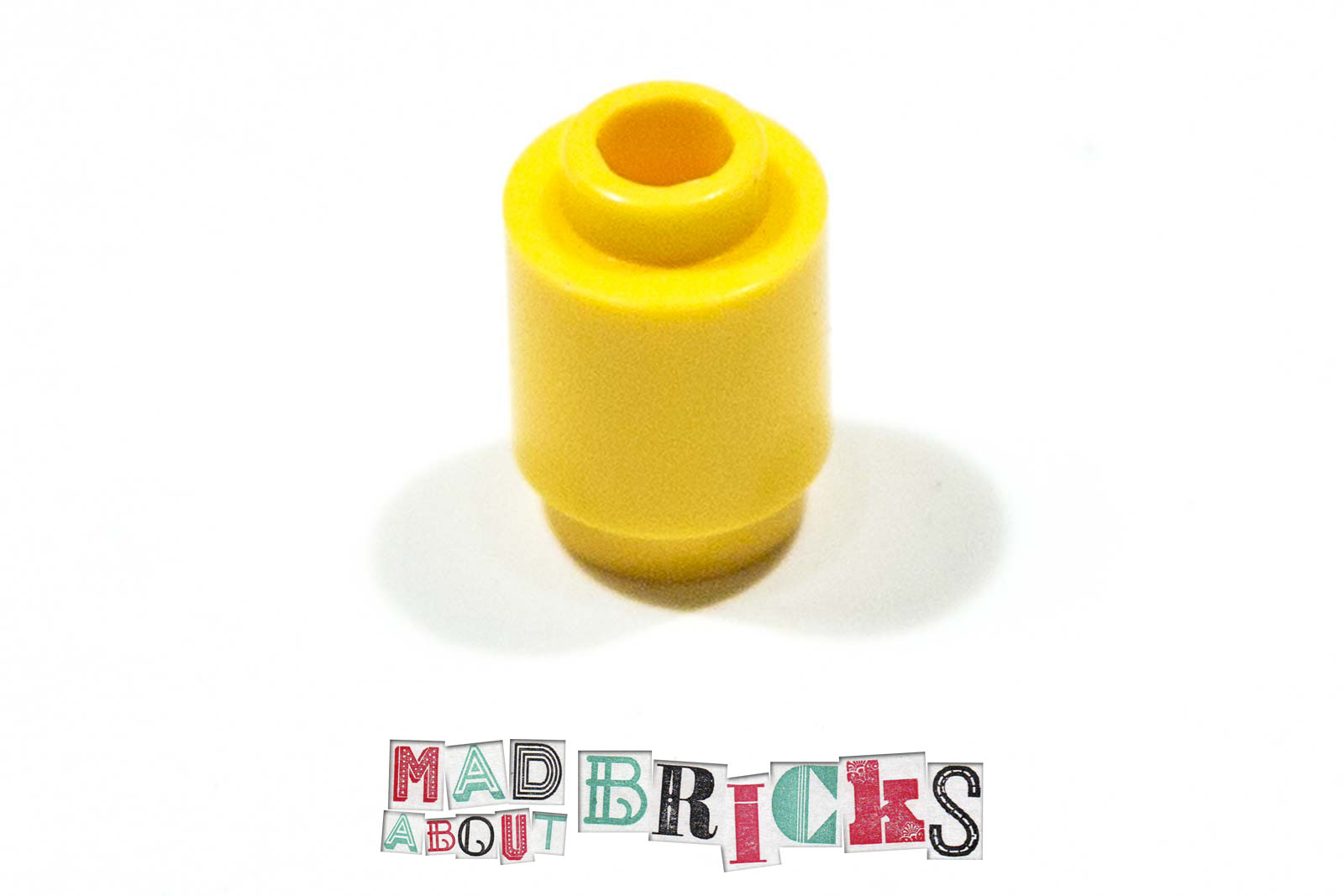 Lego 10x Brique Brick round ronde 1x1 3062 red//rouge//rot