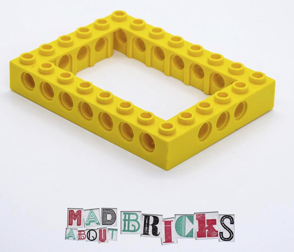 Lego 32532 6x8, Ø4,85 Technic Brick with Holes 4162899