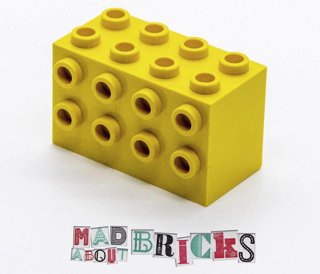 Lego 2434 2x4x2 RARE Knob Stone 525319