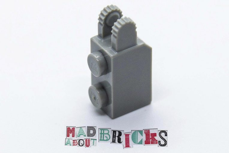 Lego 30365 1x1 RARE COLOUR Brick with Friction Fork Vertical End 4144500