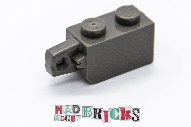 Lego 30364 1x2 RARE COLOUR Brick with vertical stub end 4144497