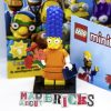New Lego Minifig Complete Date Night Marge The Simpsons Series 2 71009-2