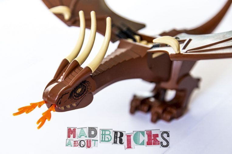 Lego 4767 VERY RARE Harry Potter Hungarian Horntail Dragon from 4767_Parts